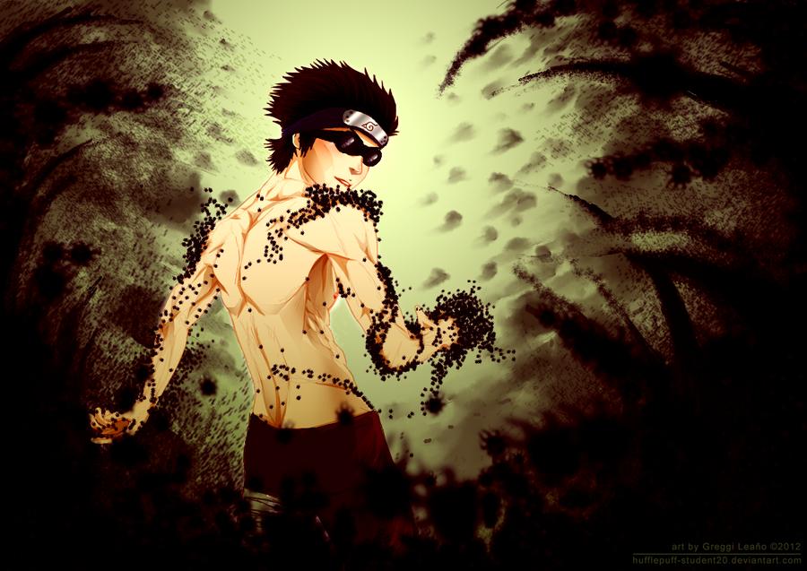 Shirtless Ninja : Aburame Shino by goyong on DeviantArt Gaara And Lee