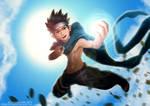 Shirtless Ninja: Sarutobi Konohamaru