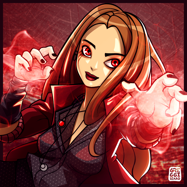 Scarlet Witch by greggileano