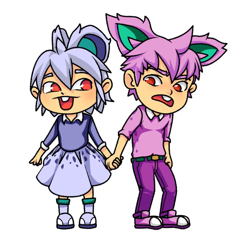 Pokemon Gijinka #029 #032 by greggileano