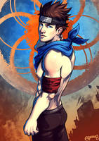 Shirtless Ninja: Konohamaru Sarutobi by goyong