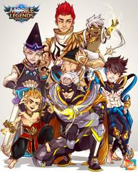 The Family of Wind and Fire by goyong