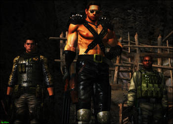 BSAA Are Here... by Alper-55