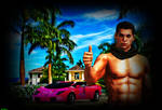 Hot Guy and Sexy Car by Alper-55