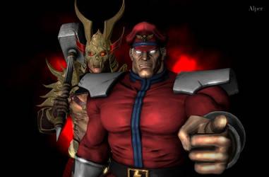 Shao Kahn On Mortal Kombat Fans3d Deviantart
