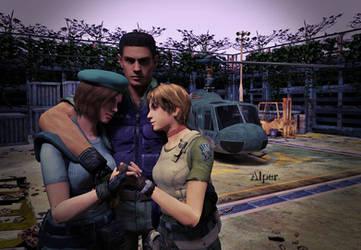 Best Resident Evil Remake ending