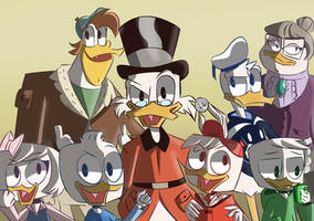 Ducktales 2017 by AnneMate
