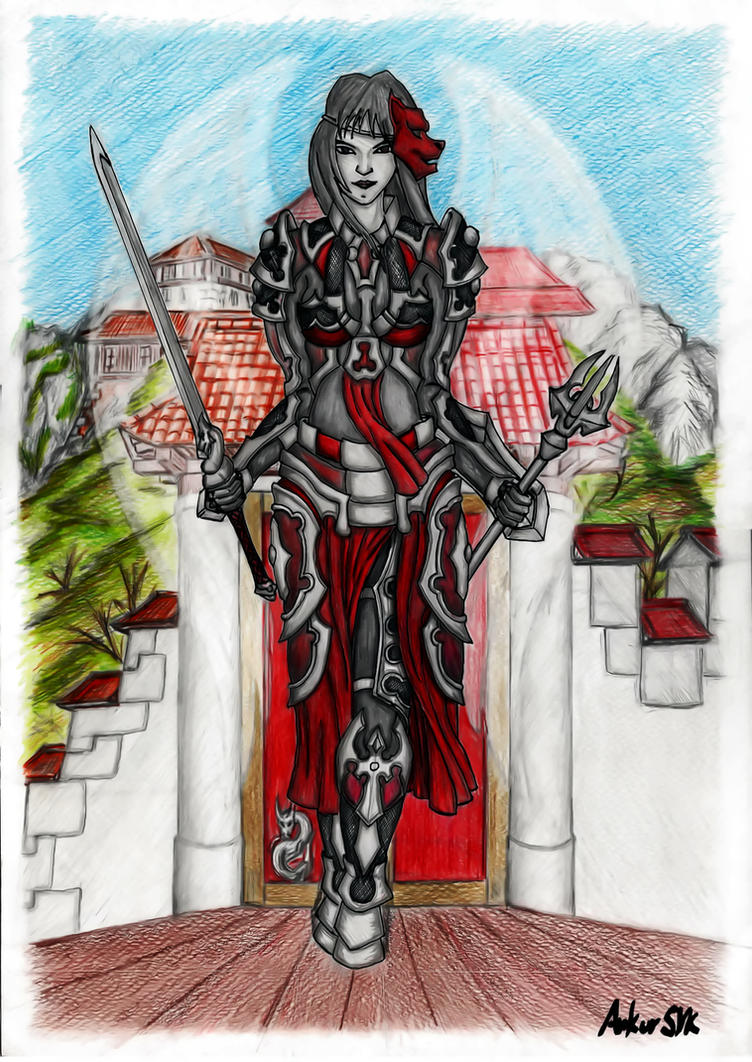 Red Tara by AnkorSVK