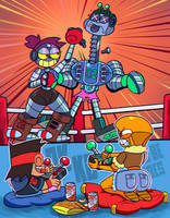 Robot Fight by roco340