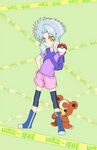 Akari Maestro pokemon by Loffmon