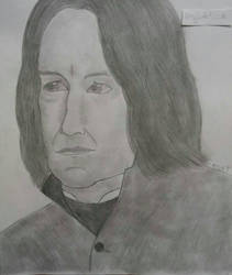 Alan Rickman  by percyjason1