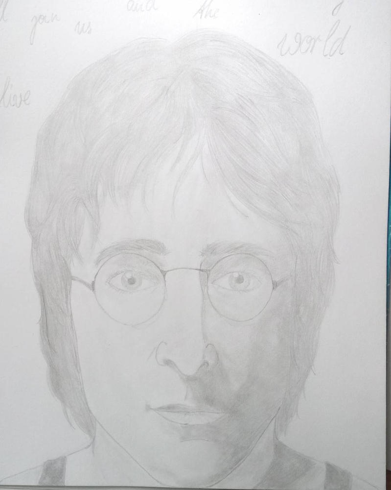 John Lennon  by percyjason1
