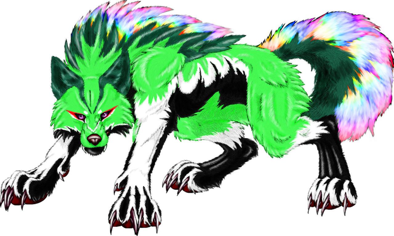 Origin the Wolf by KitsuneRedWolf