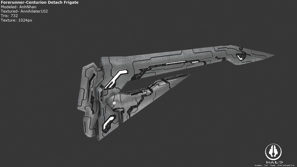 Forerunner Centurion Detach Frigate by Annihilater102