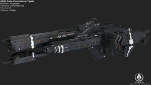 UNSC Paris Class Heavy Frigate