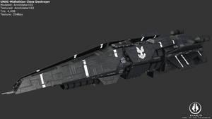 UNSC Midlothian Destroyer