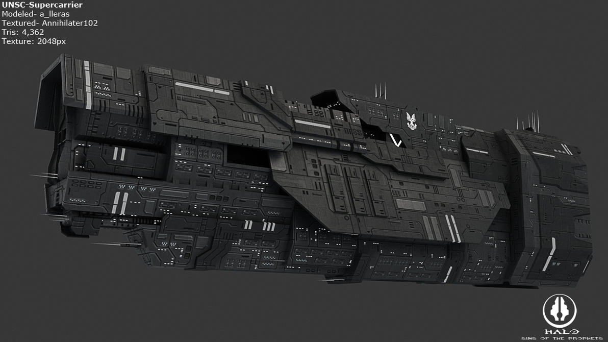UNSC - Supercarrier by Annihilater102