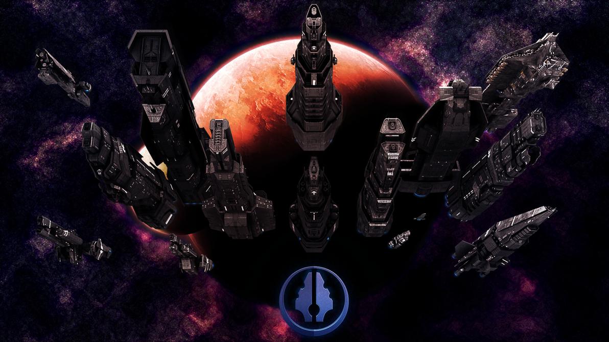 UNSC Fleet by Annihilater102