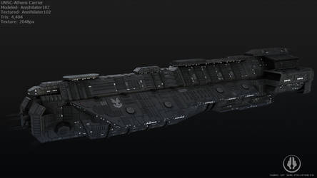 UNSC - Athens Carrier by Annihilater102