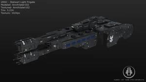 UNSC Stalwart Light Frigate