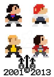 My Chemical Romance 8-Bit Poster