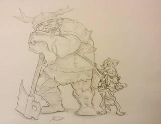 Sleeping on duty/Daring goblins by br50