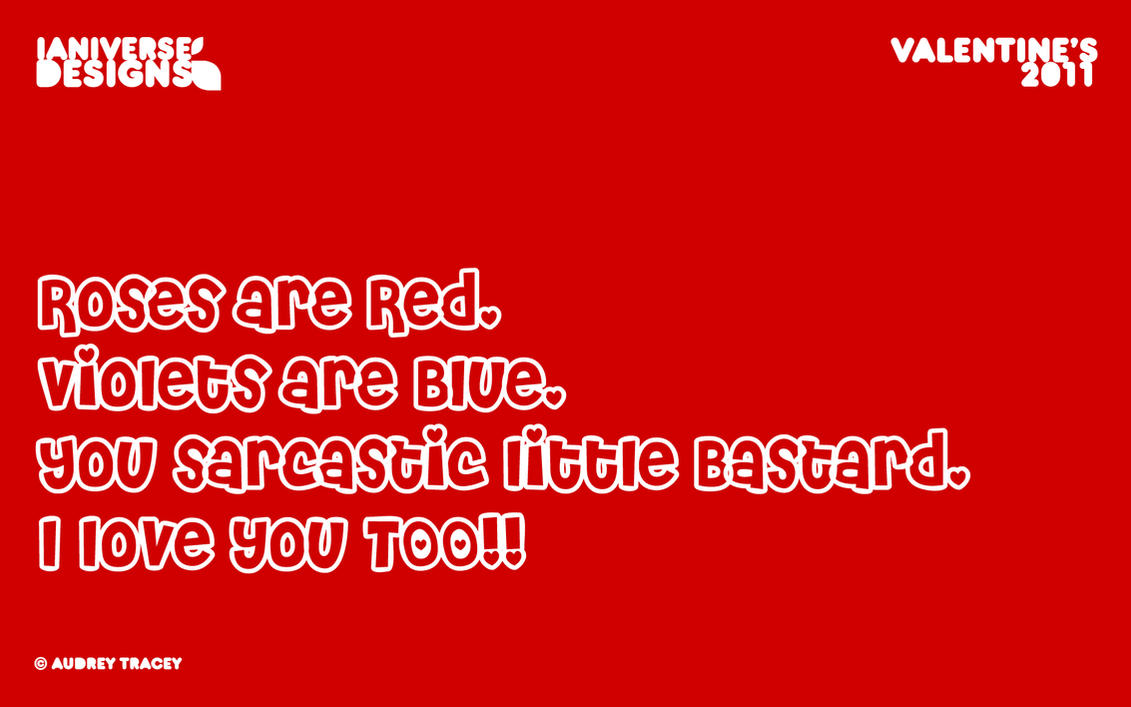 Roses Are Red poem by Audrey by IaniverseBTS on DeviantArt