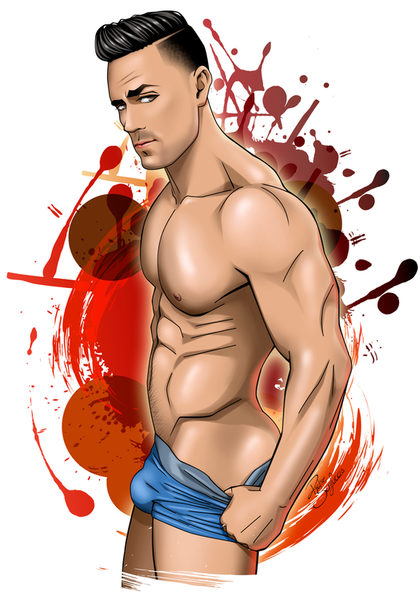 Anime boy by theartofrichie
