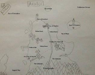 Map of Analor by Sacroknox