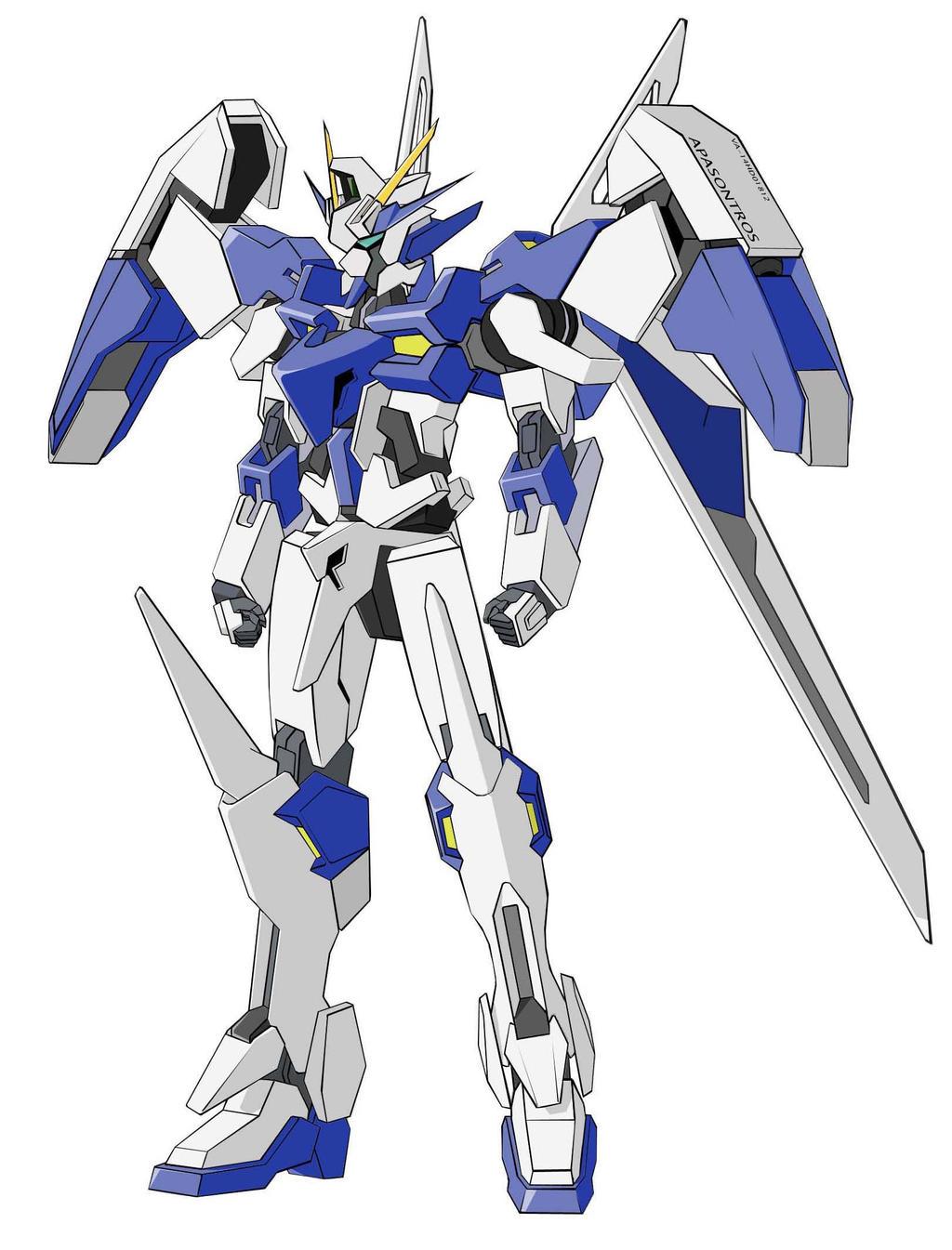 VA-14HD01812 Gundam Reakta by orihalchon