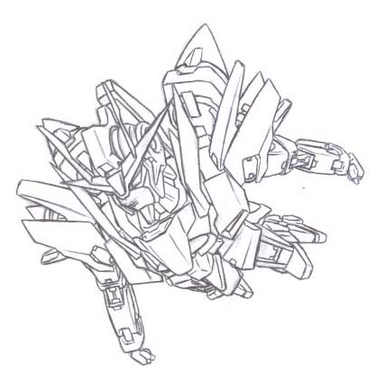 Gnz 0 gundam wing by orihalchon on deviantart for Gundam wing coloring pages