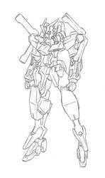 Gundam Vega by orihalchon
