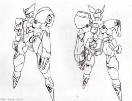 Sharden Gundam by orihalchon