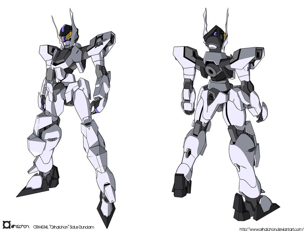 ORI-H014L Solus Gundam colored by orihalchon
