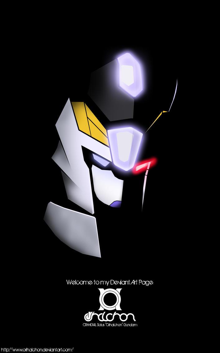 Deviant ID 2011: Solus Gundam by orihalchon