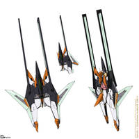 GN-011 Gundam Harute Ori.V - Fighter Mode by orihalchon