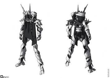 Soleus - Masked mode by orihalchon