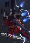 FBA - Zaku II High-Mobility Type