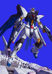 FBA - Strike Freedom by orihalchon