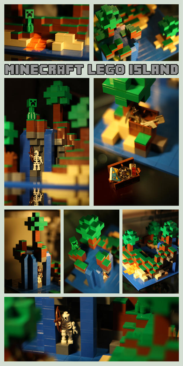 Minecraft Lego Island by Spankreas