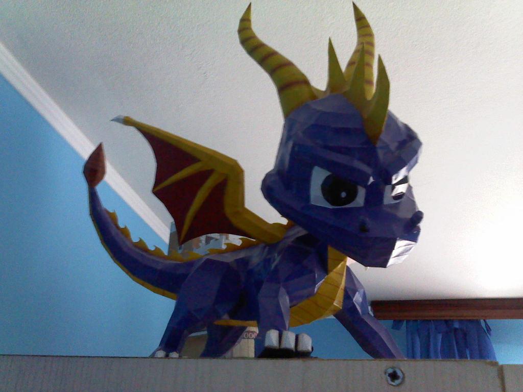 spyro the dragon by two-wisemen
