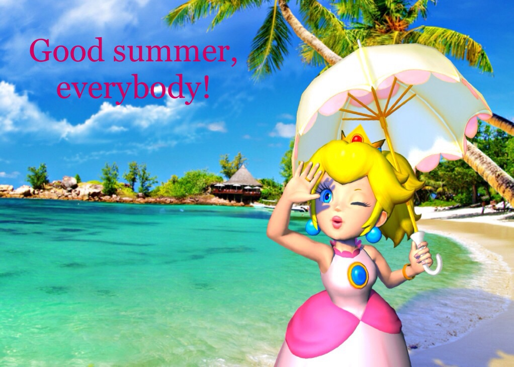 Summer Regards From Me! by PrincessPeach8