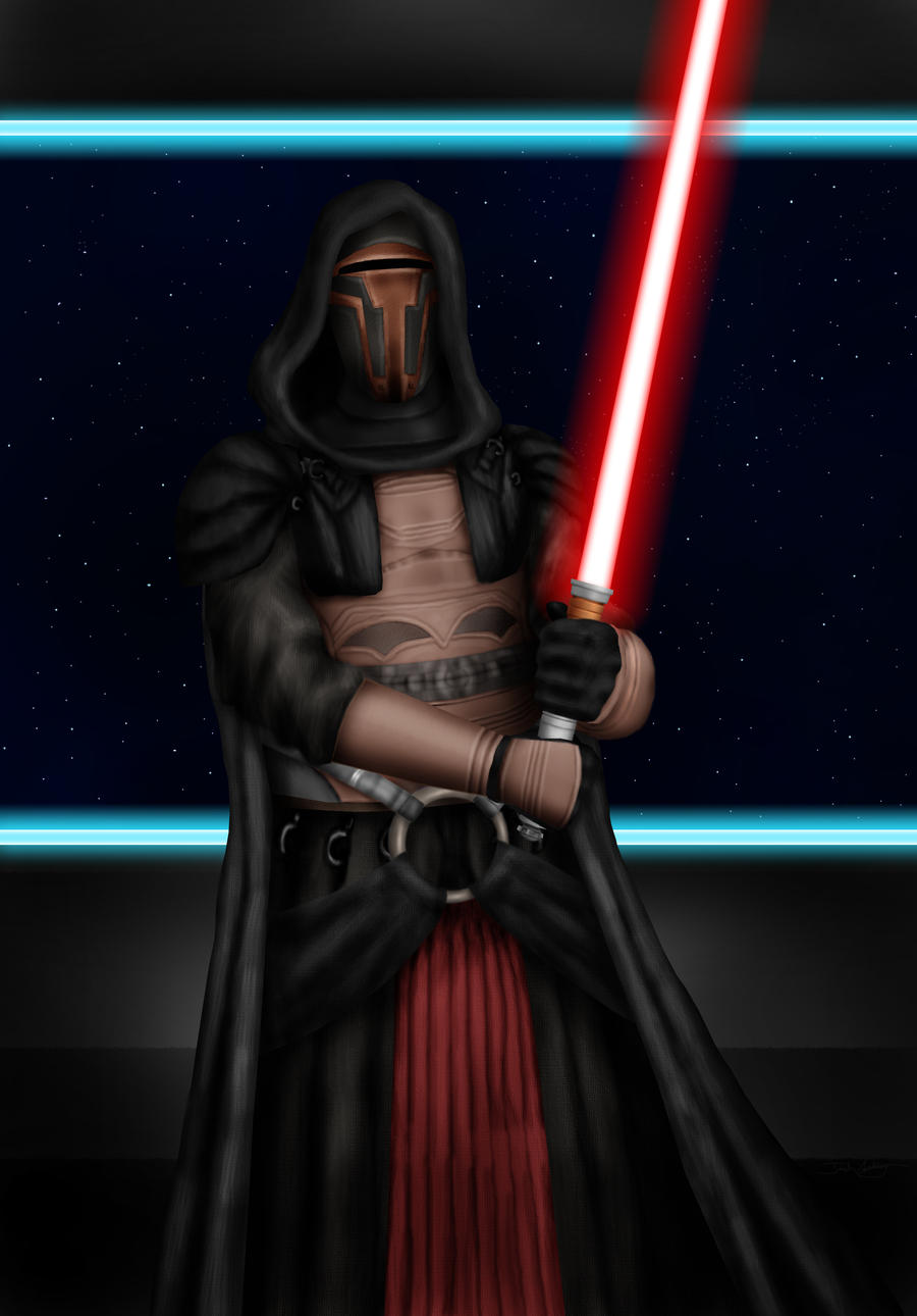 Darth Revan by josh-eeewwa