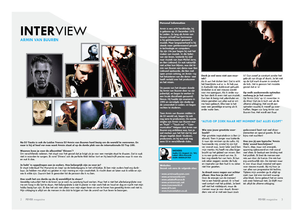 Interview Magazine Graphic Designer