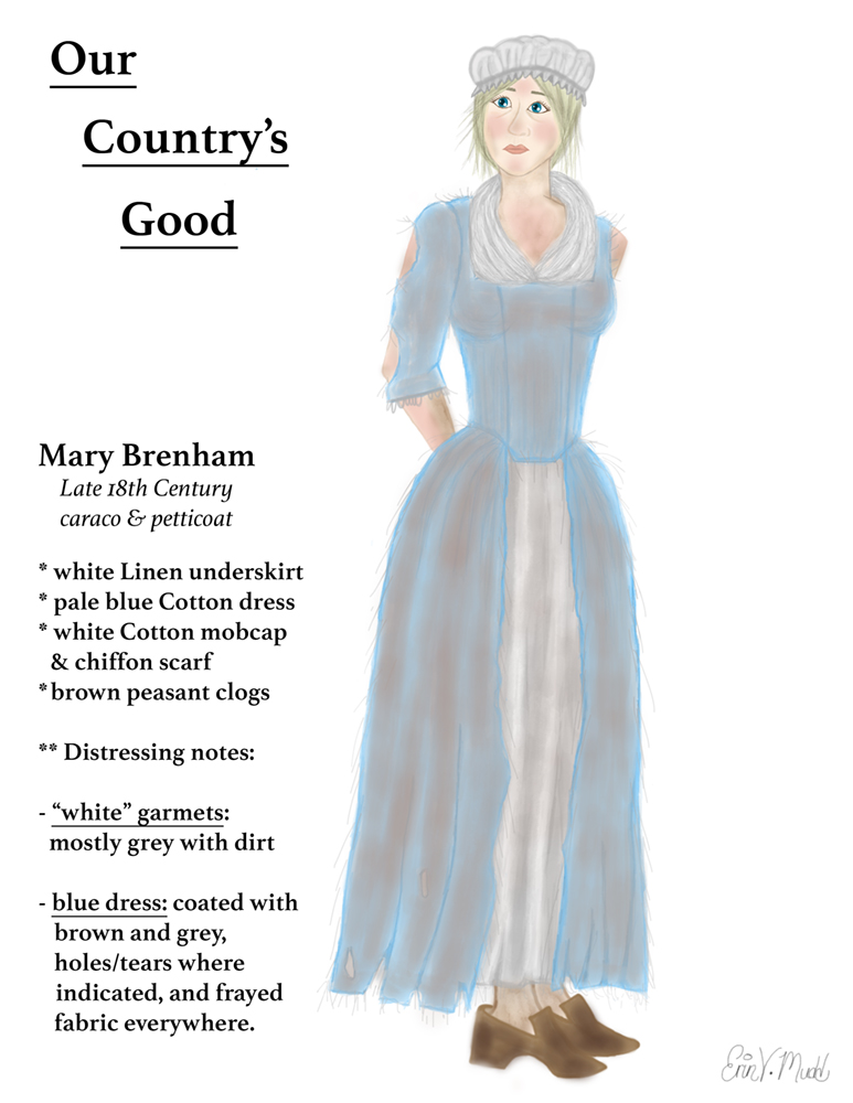 Our Good Life Top Ten Rainbow Cupcakes: Our Country's Good -- Mary Brenham (digital) By