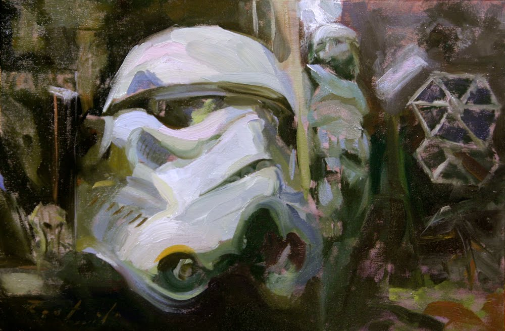 Troopers head by jango418