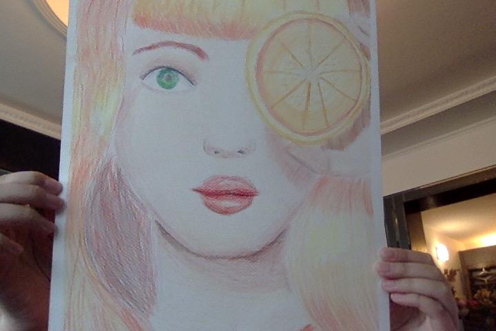 Orange Lady by ILoveNature12345