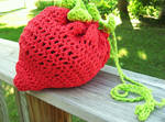 strawberry handbag