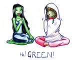 LOL GREEN