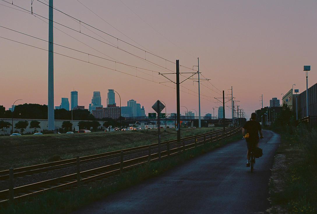 Sunset Ride by mattsandy
